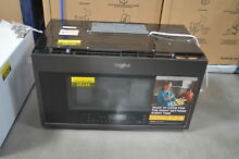 Whirlpool WMH78019HV 30  Black Stainless Over The Range Microwave NOB  28011 HL