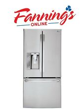 LG 29 8 cu  ft  French Door Refrigerator in Stainless Steel LFXS30726S