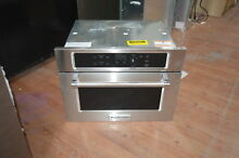 KitchenAid KMBS104ESS 24  Stainless Built In Microwave Oven NOB  28241 HL