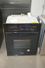 Whirlpool WOS11EM4EB 24  Black Single Electric Wall Oven NOB  28250 HL