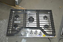 Whirlpool WCG97US0DS 30  Stainless 5 Burner Gas Cooktop NOB  28304 HRT