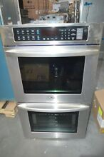 LG LWD3063ST 30  Stainless Double Electric Wall Built In Convection Oven  28265
