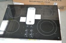 GE Profile PP9830DJBB 30  Black Electric Downdraft Cooktop  28267