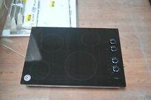 Whirlpool W5CE3024XB 30  Black Smoothtop Electric Cooktop NOB  28342 HL