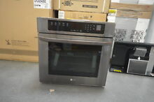 LG LWS3063BD 30  Black Stainless Single Electric Wall Oven NOB  28350 HL