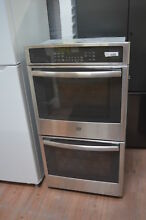 GE JK5500SFSS 27 Stainless Double Electric Wall Oven NOB  28361 CLW