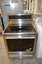 KitchenAid KFES530ESS 30  Stainless Freestanding Electric Range NOB  16818 CLW