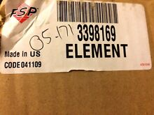 NEW OEM 3398179 Kenmore Dryer Heating Element FSP