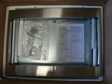 GE JX7227SFSS 27  Built In Trim Kit Stainless Steel for Select GE Microwaves