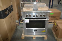 DCS RDV2304N 30  Stainless Dual Fuel Natural Gas Range NOB  28553 HL