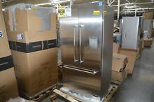 DCS RF201ACUSX1 36  Stainless French Door Refrigerator NOB CD  28562 HL