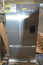 Fisher Paykel RF201ADUSX5 36  Stainless French Door Refrigerator NOB  28609 HL