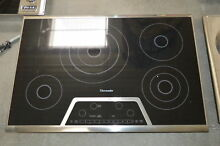 Thermador CET304NS 30  Stainless Smoothtop Electric Cooktop NOB  28469 HL