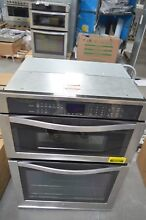 Whirlpool WOC54EC0AS 30  Stainless Microwave Combo Wall Oven NOB  28502 HL