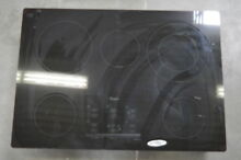 Whirlpool G9CE3065XB 30  Black Smoothtop Electric Cooktop NOB  28518 HL