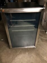 USED Frigidaire 4 6 Cu Ft  Stainless Steel Beverage Center FFBC4622QS