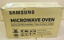 Samsung ME21M706BAS 2 1 cu  ft  Over the Range Microwave Stainless Steel New