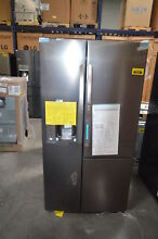 LG LSXS26366D 36  Black Stainless Side by Side Refrigerator NOB  28803 HL