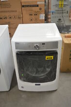 Maytag MED5500FW 27  White Front Load Electric Dryer NOB  28813 HL