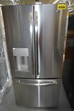 GE GFE24JSKSS 33  Stainless French Door Refrigerator  28819 HL