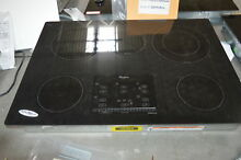 Whirlpool G9CE3065XB 30  Black Smoothtop Electric Cooktop NOB  28874 HL