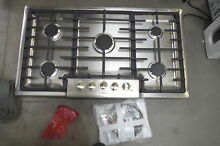 Bosch 800 Series NGM8655UC 37  Natural Gas Built In Cooktop Stainless NOB  28974