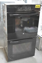 GE JK3500DFBB 27  Black Double Electric Steam Wall Oven NOB  29044