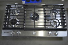 KitchenAid KCGS556ESS 36  Stainless 5 Burner Gas Cooktop NOB  29067