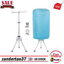 Portable Ventless Clothes Dryer Folding Laundry Drying Machine with 900W Heater