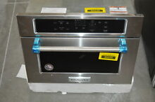 KitchenAid KMBS104ESS 24  Stainless Built In Microwave NOB  29079 HL