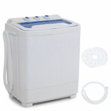 Portable mini small rv dorms Compact 8   9lb Washing Machines Spin Dryer Laundry