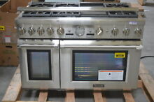 Thermador PRG486JDG 48  Stainless Pro Style Gas Range NOB  29137 HL