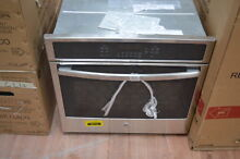 GE JT5000SFSS 30  Stainless Single Electric Convection Wall Oven NOB  29150