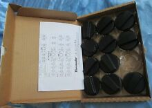 NEW Genuine THERMADOR COOKTOP KNOBS Set Black KNOBCTBLK Replacement Lot 11 Pcs