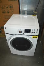 GE GFD45ESSMWW 27  White Front Load Electric Dryer w  Steam NOB  29205 CLW