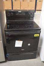 Whirlpool WFE525S0HB 30  Black Freestanding Electric Range NOB  29352 HL