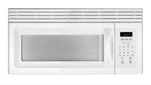 Frigidaire White 1 5 Cubic Foot Over The Range Microwave