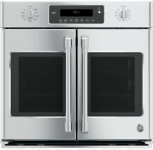 GE Caf  30  Built In French Door Single Convection Wall Oven CT9070SHSS