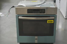 GE JK3000SFSS 27  Stainless Single Wall Electric Oven Self Clean  29452