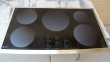 GE PROFILE CLEANDESIGN PHP960SMSS 36  FULL INDUCTION COOKTOP  STOVE TOP