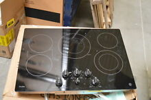 GE PP7030DJBB 30  Black 5 Burner Electric Cooktop NOB  29629 HL