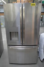 GE GFE26JSMSS 36  Stainless French Door Water IceMaker Refrigerator  29549