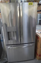 GE GFE26JSMSS 36  Stainless French Door Water Icemaker Refrigerator  29552