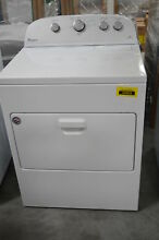 Whirlpool WED5000DW 29  Front Load Electric Dryer White 7 cu ft  29689 CLW
