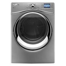 Whirlpool WED97HEXL 27  Silver Front Load Electric Steam Dryer NIB  9286 WLK