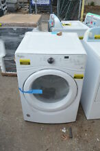 Whirlpool WED75HEFW 27  White Front Load Electric Dryer NOB  19393 T2 CLW