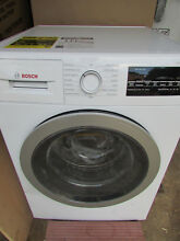 Bosch 500 Series 2 2 cu ft High Efficiency Stackable Front Load Washer  White Si
