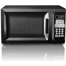 Hamilton Beach 0 7cu FT Digital Countertop Microwave Oven Kitchen 700watts White