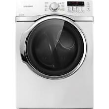 Samsung DV393ETPAWR Front Load 27  White Electric Dryer  8524 CLW