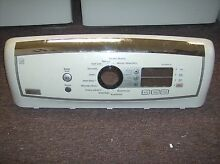 GE Profile Washing Machine   Washer Front Control Panel  WH46X10266